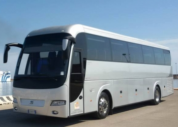 Bus for hire for 55 passengers